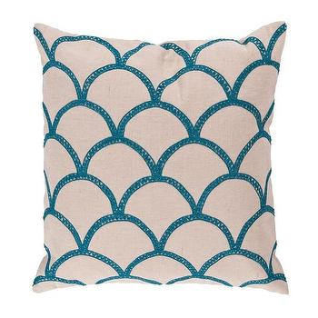 Scala Aqua Pillow I Dwell Studio