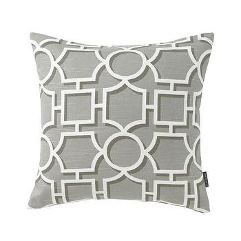 Vreeland Brindle Pillow I Dwell Studio