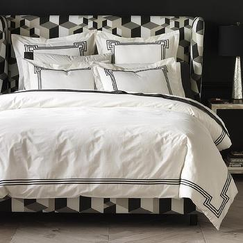 Regent Ink Duvet Cover I Dwell Studio