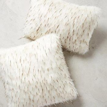 Faux-Fur Pillow I Anthropologie