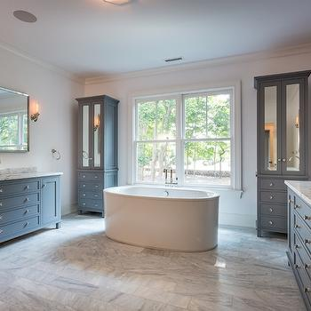 Mirrored Bathroom Cabinets, Transitional, Bathroom, Sir Development