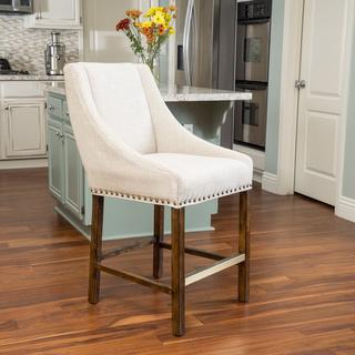 Christopher Knight Home James Fabric Counter Stool, Overstock.com