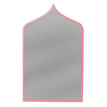 Stray Dog Designs Marrakesh Pink Mirror I Zinc Door