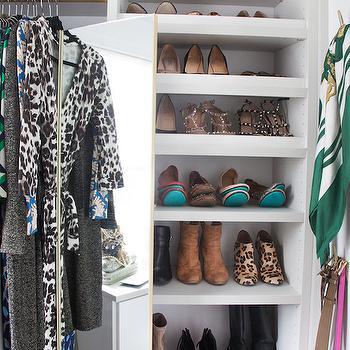 Closet Mirror Ideas, Transitional, Closet, Erin Gates Design