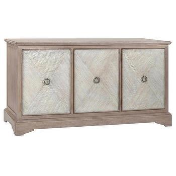 Gabby Ansley Parched Oak Cabinet I Zinc Door