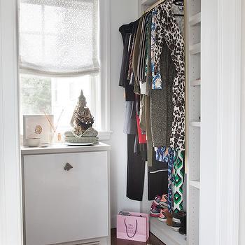 Small Walk In Closets, Transitional, Closet, Erin Gates Design