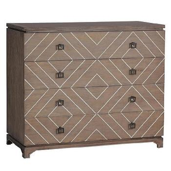Gabby Furniture Terrance Transitional Chest I Zinc Door