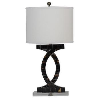 Gabby Lyric Table Lamp I Zinc Door