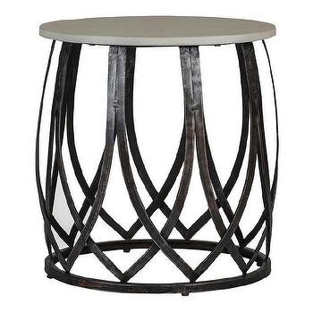 Gabby Tulip Side Table I Zinc Door