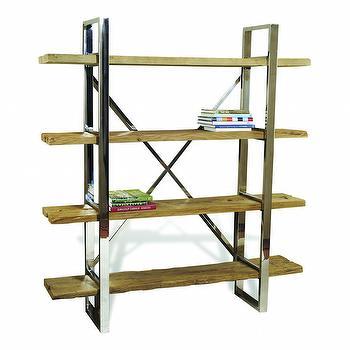 Hatcher Bookshelves design by Interlude Home I Burke Decor
