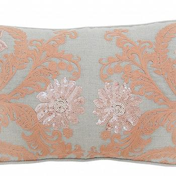 Lilith Apricot Pillow design by Villa Home I Burke Decor