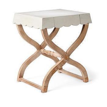 Scallop Side Table I Grandin Road