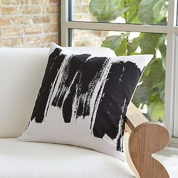 "Brush Stroke 20"" Pillow I Crate and Barrel"