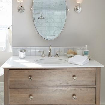 Dresser Bathroom Vanity, Transitional, Bathroom, Hendel Homes