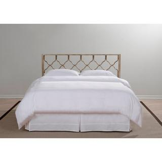 Brushed Gold Honeycomb Headboard, Overstock.com
