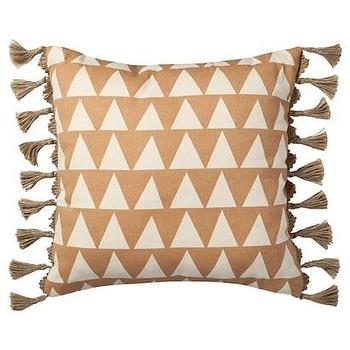 Nate Berkus Peach Bloom Triangle Print Pillow I Target