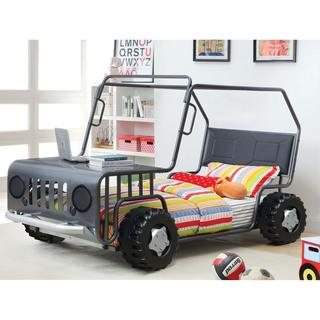 Furniture of America Jones Gun Metal SUV Youth Bed, Overstock.com