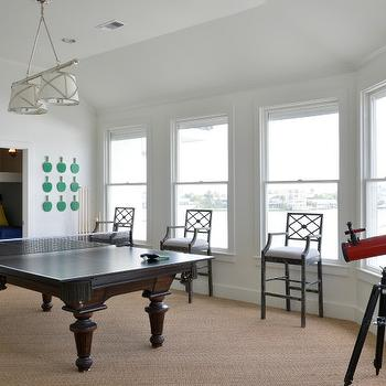Game Room Design, Cottage, Media Room, Munger Interiors