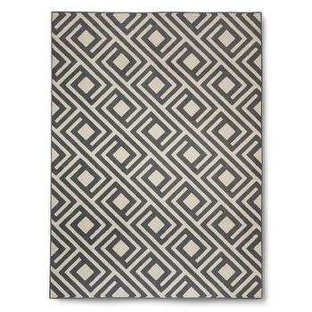 Threshold Square Geometric Rug, Gray I Target