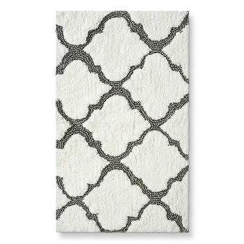 "Threshold Medallion Bath Rug, Gray (20X34"") I Target"