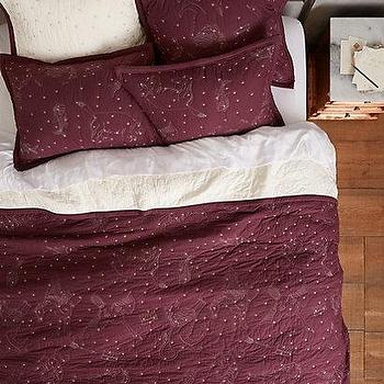 Cosmos Coverlet I Anthropologie