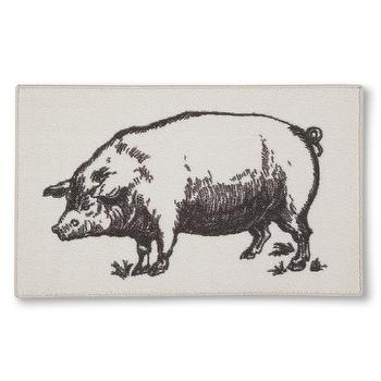 Threshold Pig Kitchen Rug I Target