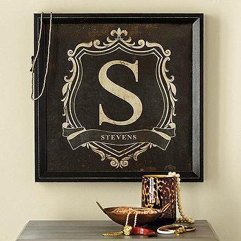 Personalized Monogram Crest I Ballard Designs
