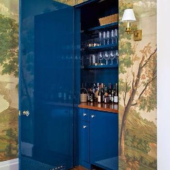 Hidden Bar Ideas, Eclectic, Dining Room