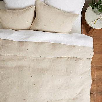 Scattered Dots Duvet I Anthropologie