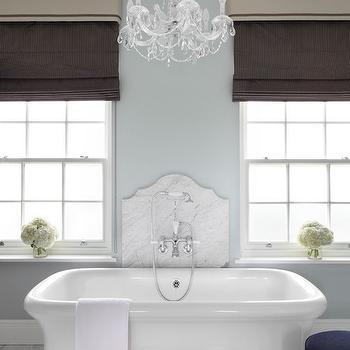 Bathtub Backsplash Ideas, Traditional, Bathroom, Zoffany Paint La Seine, Oliver Burns