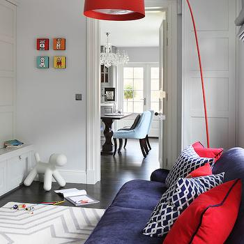 Twiggy Floor Lamp, Contemporary, Den/library/office, Oliver Burns