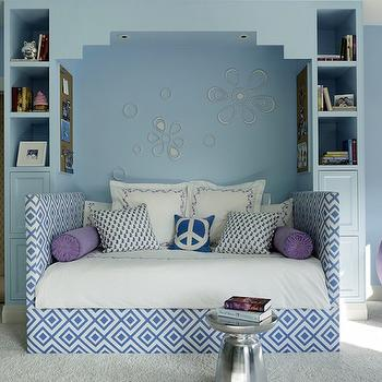 Blue Girls Bedroom Ideas, Transitional, Girl's Room, Palmer Weiss