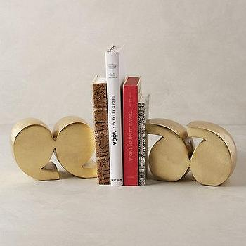 Quotation Marks Bookends I Anthropologie