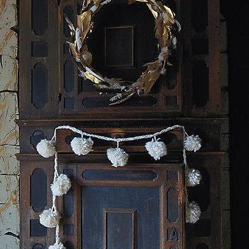 Fallen Feathers Wreath I Anthropologie