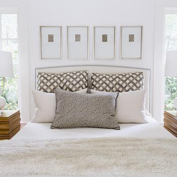 Art Over Headboard, Transitional, Bedroom, Dana Wolter Interiors
