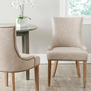 Safavieh Lester Grey Dining Chair (Set of 2), Overstock.com
