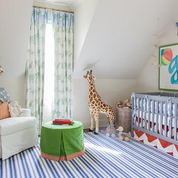 Boys Nursery Ideas, Transitional, Nursery, Julie Couch Interiors