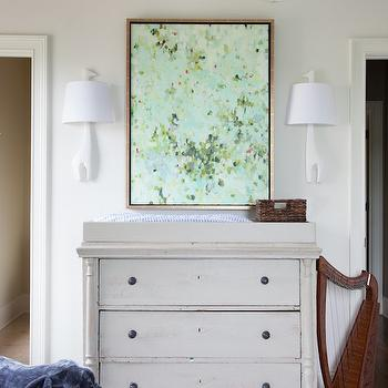 Lighting for Nursery, Transitional, Nursery, Julie Couch Interiors