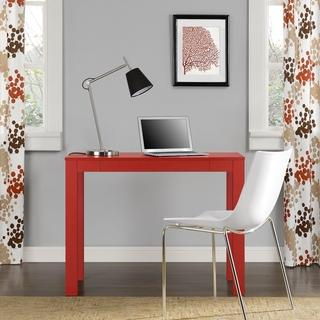 Red Parsons Desk with Drawer, Overstock.com
