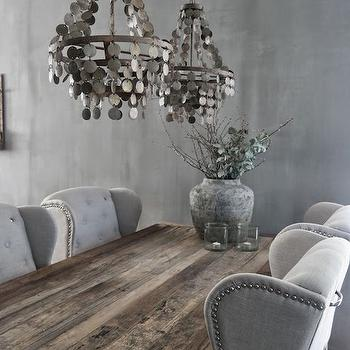 Gray Dining Room Design, Dining Room