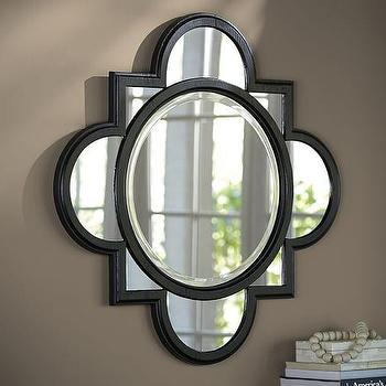 Bianca Quatrefoil Mirror I Pottery Barn
