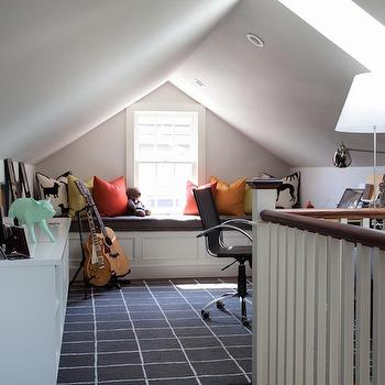 Attic Office Ideas, Traditional, Den/library/office, Duffy Design Group