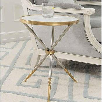 Campaign Side Table I High Fashion Home