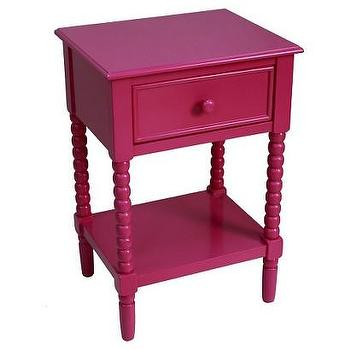 Kids Accent Table Turned Leg Pink I Target