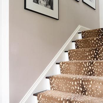 Antelope Stair Runner, Transitional, Entrance/foyer, Domaine Home