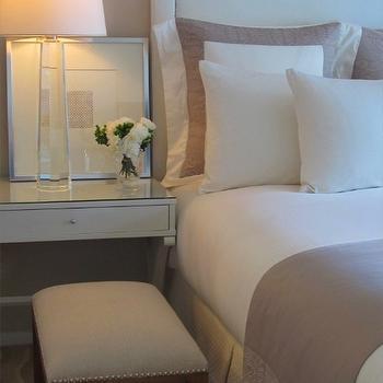 Crystal Bedside Table Lamp, Transitional, Bedroom, Kapito Muller Interior