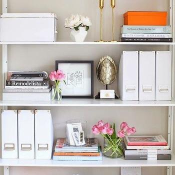 Orange Accents, Transitional, Den/library/office, Kapito Muller Interior