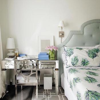 Desk Nightstand, Transitional, Bedroom, Kapito Muller Interior
