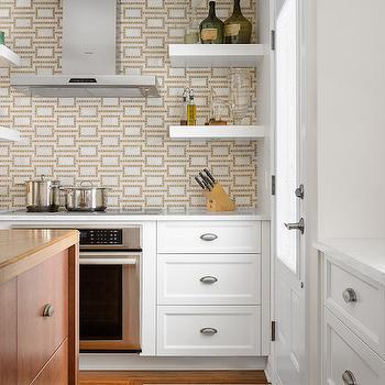 Floating Spice Shelves, Transitional, Kitchen, Astro Design Center