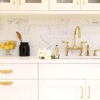 Kitchen with Gold Accents, Transitional, Kitchen, Kapito Muller Interior